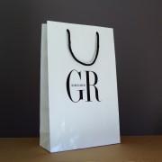 sac blanc en papier kraft pour mariage