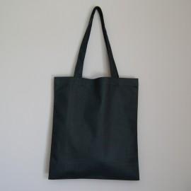 sac en coton noir 220 g 40x36 cm