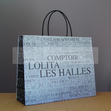 Sac en papier haute qualité pour boutique et publicité