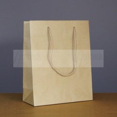 sac cadeau luxe en kraft brun recyclé