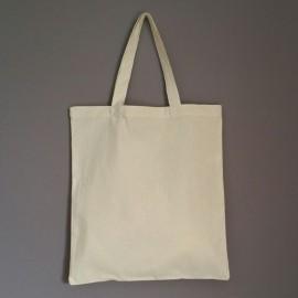 sac en coton écru avec anses moyennes