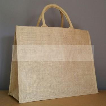 sac cabas personnalisable en toile de jute naturelle