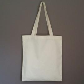 sac en coton écru prélavé 220 g 40x35 cm