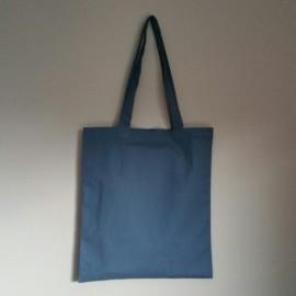 sac en coton bleu marine 150 g 40x36 cm