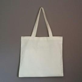 sac en coton écru prélavé 145 g 38x41 cm