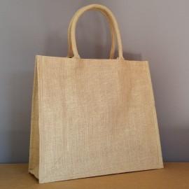 sac en jute moyen poignées de 45 cm