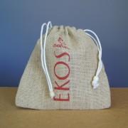 Petit sac en toile de jute écologique