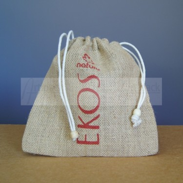 pochons en jute personnalisé pour packaging cosmétique naturelle