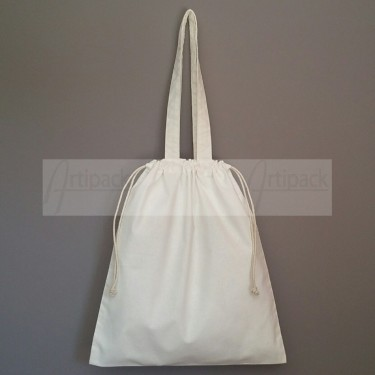 sac shopping et pochon en coton à personnaliser