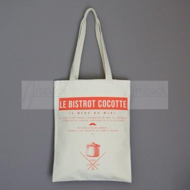 sac en toile coton imprimé