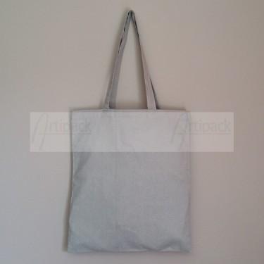 tote bag personnalisable en coton gris