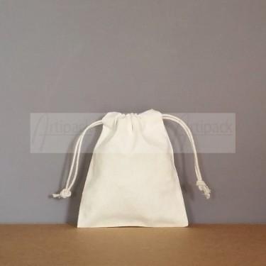 Mini sac bourse en tissu coton prélavé personnalisable