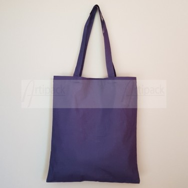 tote bag personnalisable bleu marine