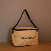 sac isotherme lunch box en jute