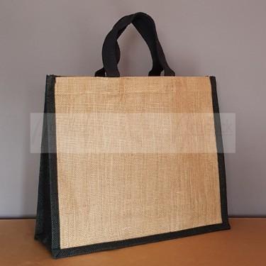 sac cabas en toile de jute personnalisable