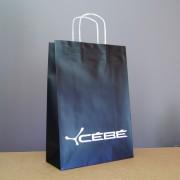 sac cabas papier avec revers