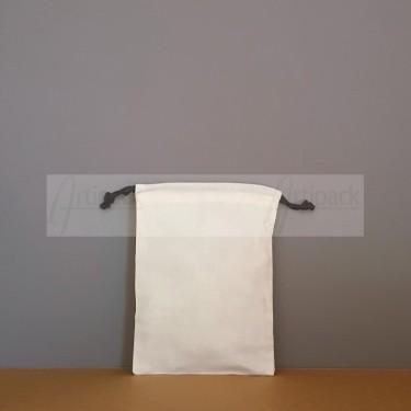 Pochons tissu en beau coton prélavé personnalisables