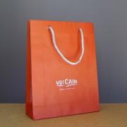 sac papier luxe avec revers