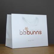 sac papier luxe avec cordelettes