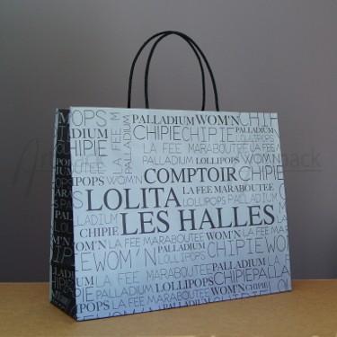 sac cabas en papier pour boutique